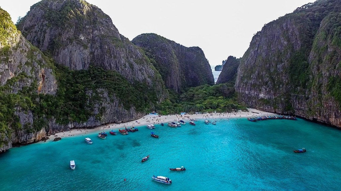 Phi Phi Leh: Η παραλία Maya του DiCaprio κλείνει οριστικά! - itravelling.gr