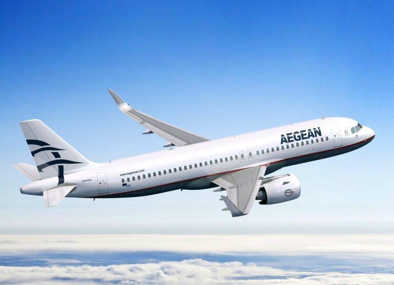 Νέος χρόνος με -40% έκπτωση σε όλες τις πτήσεις του εξωτερικού από την Aegean
