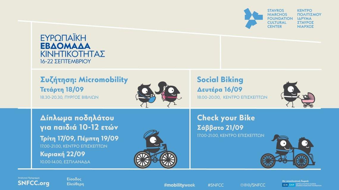 Εβδομάδα Κινητικότητας: Μια εβδομάδα γεμάτη ποδήλατα στο ΚΠΙΣΝ - itravelling.gr