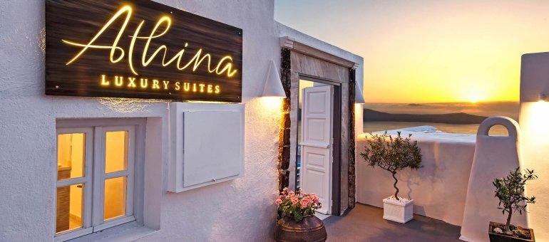 Διεθνής διάκριση για το ξενοδοχείο Athina Luxury Suites στη Σαντορίνη - itravelling.gr