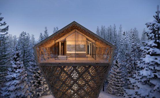 Tree Suites: Ένα luxury δεντρόσπιτο μέσα στο χιονισμένο Kitzbuhel - itravelling.gr