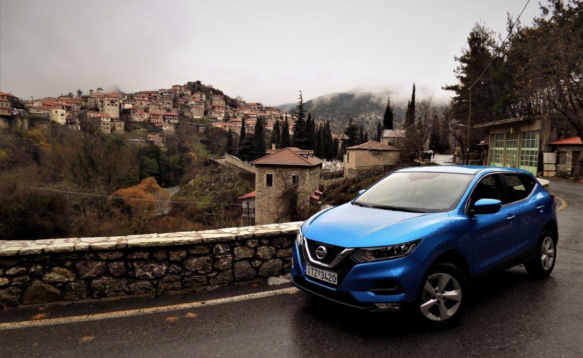 On the Road || Ταξιδεύουμε στην Ορεινή Αρκαδία με το Nissan Qashqai - itravelling.gr