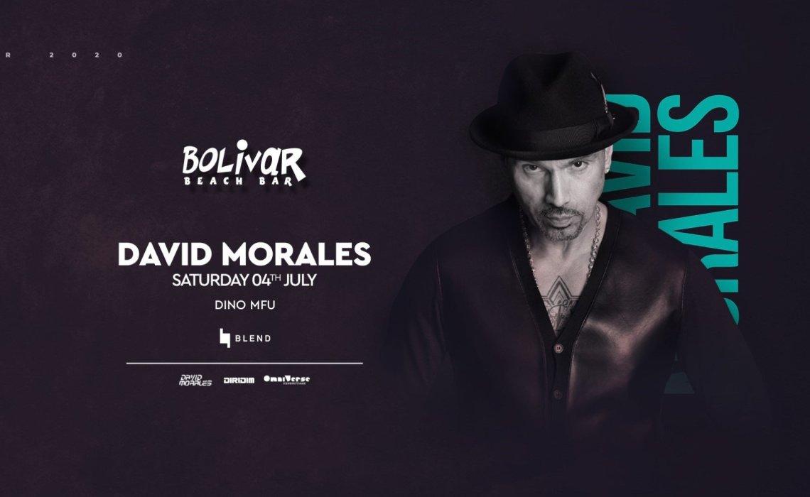 Ο David Morales επιστρέφει στο Bolivar Beach Bar - itravelling.gr