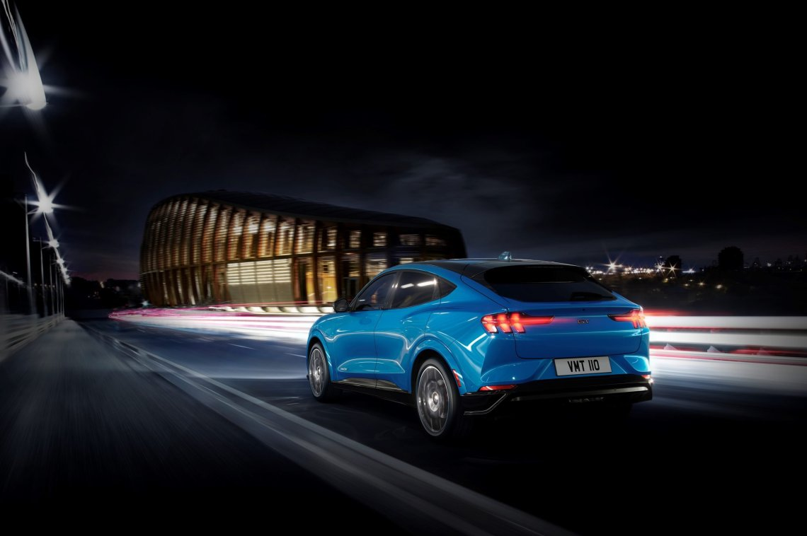 Το Intelligent Range της νέας Ford Mustang Mach-E