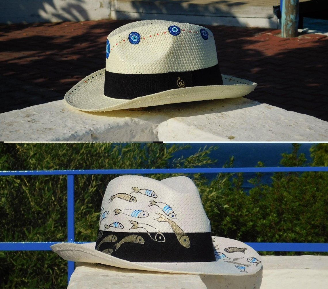 iT Giveaway: Κέρδισε 2 ζωγραφισμένα καπέλα από το All About Hats - itravelling.gr