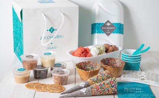 Zuccherino Gelato Box: Η απόλυτη DIY εμπειρία παγωτού γίνεται στο σπίτι - itravelling.gr
