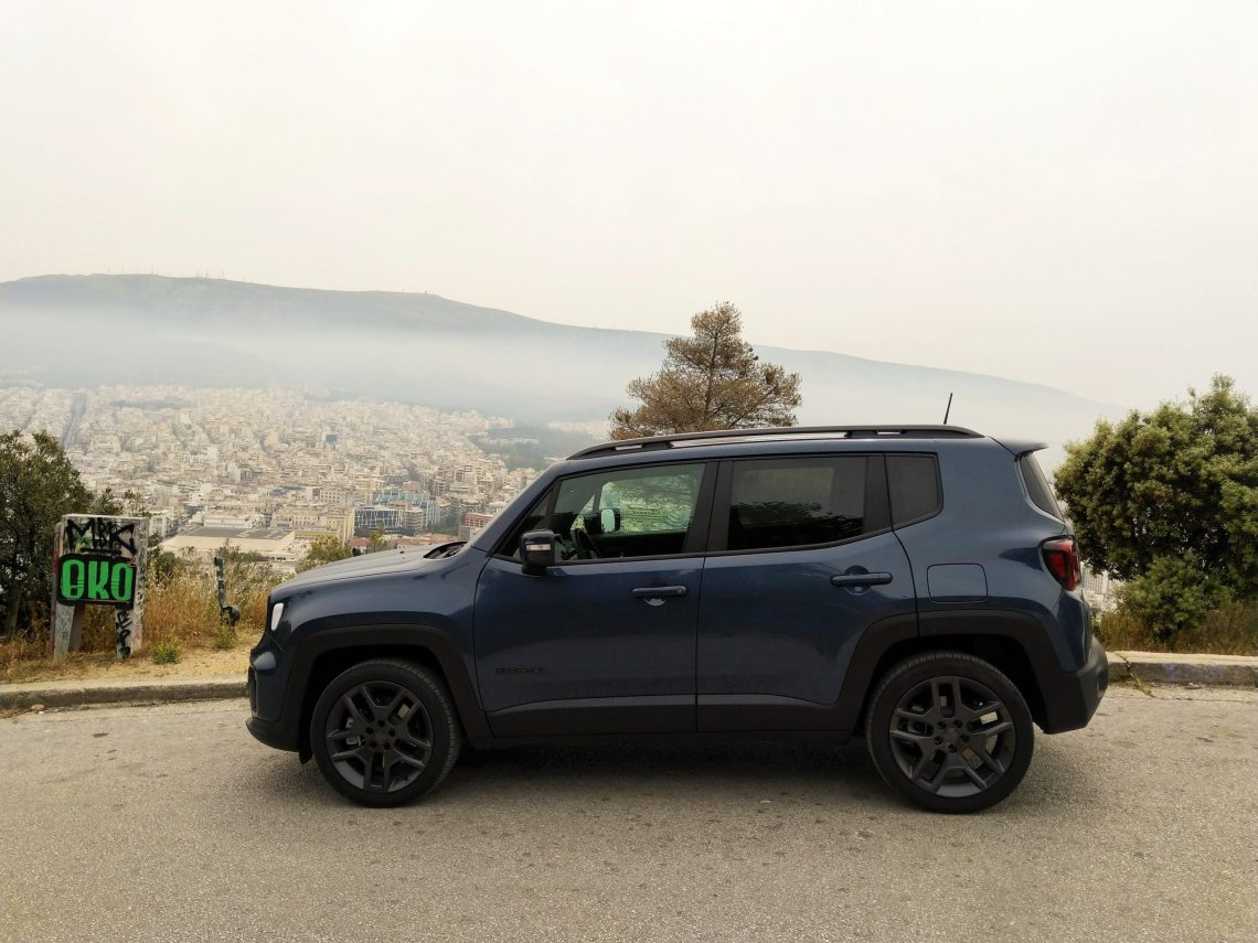 iTest Drive || Πάσχα στην Αθήνα με το νέο Jeep Renegade 4xe S