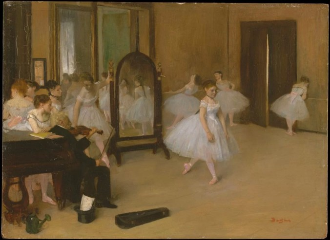 Edgar Degas Art - Painting of Ballet Dancers