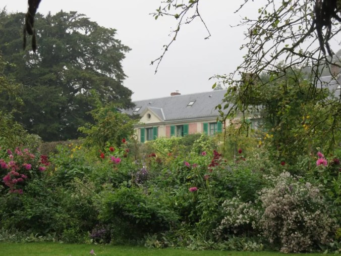 Photo of Monet's gardens in Giverny
