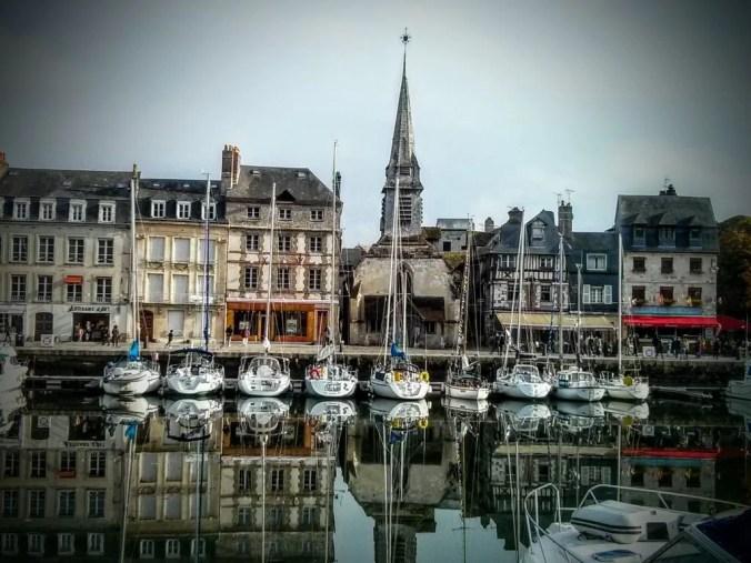 Honfleur Port in Normandie France
