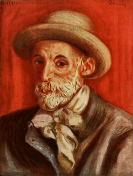 Auguste Renoir paintings - self portrait