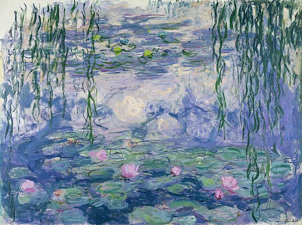Water Lilies Claude Monet  at the Montmartre Marmottan Museum