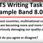 TỔNG HỢP CÁC SAMPLE IELTS WRITING BAND 8+