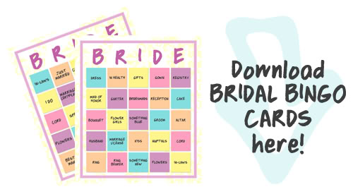 I Try DIY | Bridal Bingo Downloadable Cards