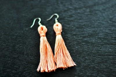 I Try DIY   CandyMag.Com: Tassel Earrings