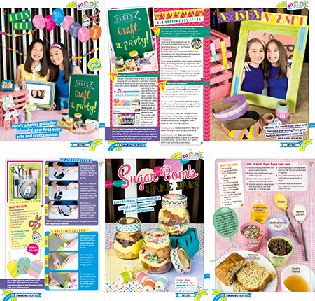 I Try DIY | Total Girl Philippines Feature in July 2013 Issue