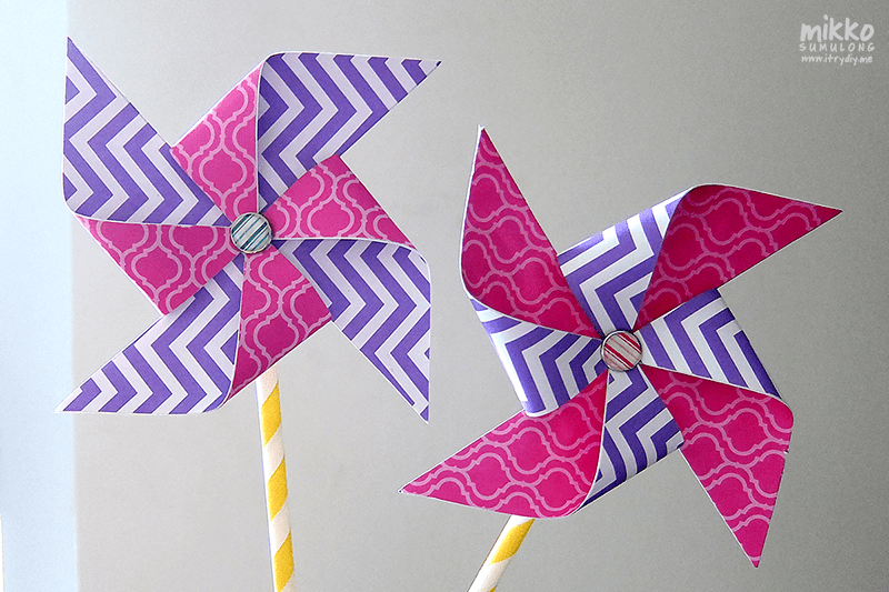 I Try DIY | DIY Tutorial: Pretty Party Pinwheels