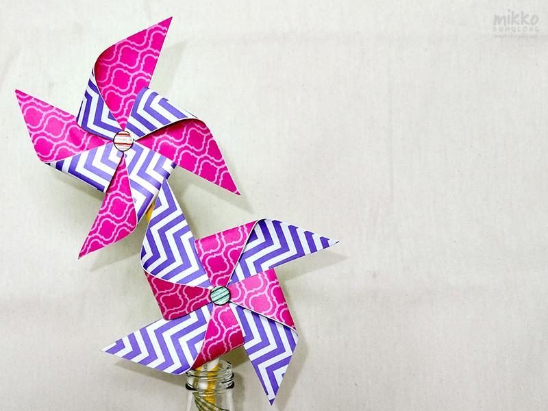 I Try DIY   DIY Tutorial: Pretty Party Pinwheels