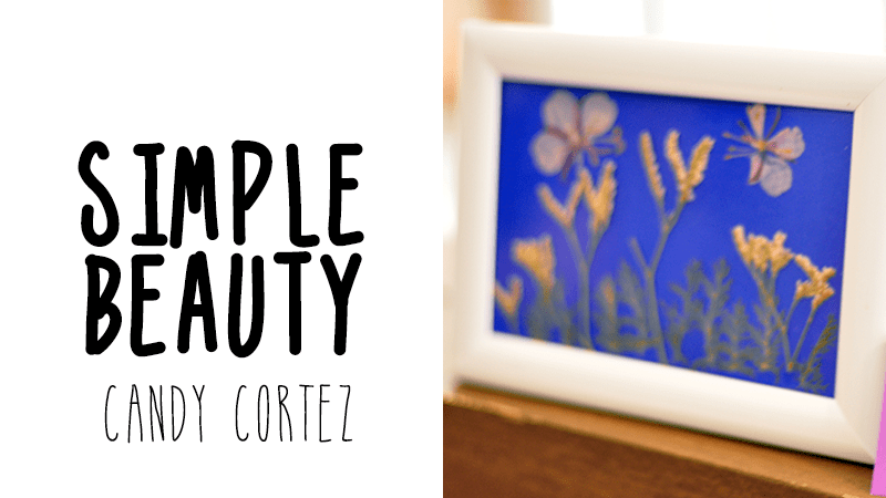I Try DIY   The Art of Pressed Flowers Workshop