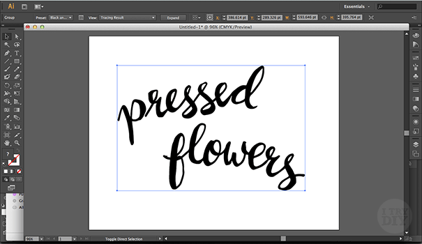 I Try DIY   How To Digitize Your Design Work