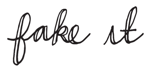 """I Try DIY   How to """"Fake"""" Calligraphy"""