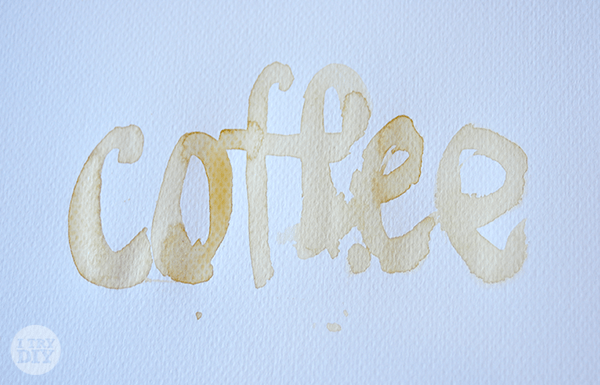 I Try DIY | Mikko Tries Brewed Coffee for Brush Calligraphy