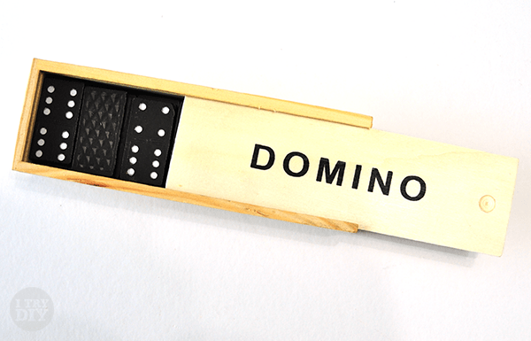 I Try DIY   Refrigerator Games: Magnetic Dominoes