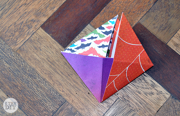 I Try DIY | It's a Wrap: Triangle Origami Boxes