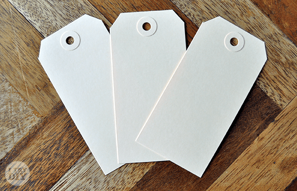 I Try DIY | It's A Wrap: Stamped-Up Gift Tags