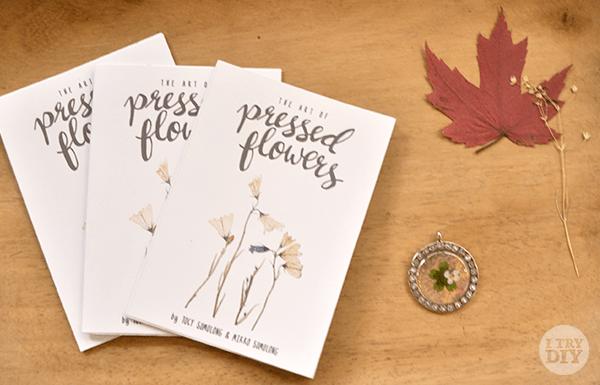 I Try DIY | Manila Bulletin: Pressed Flower Pieces at 10A Alabama