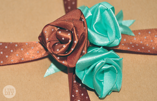 I Try DIY | How to Make Ribbon Roses