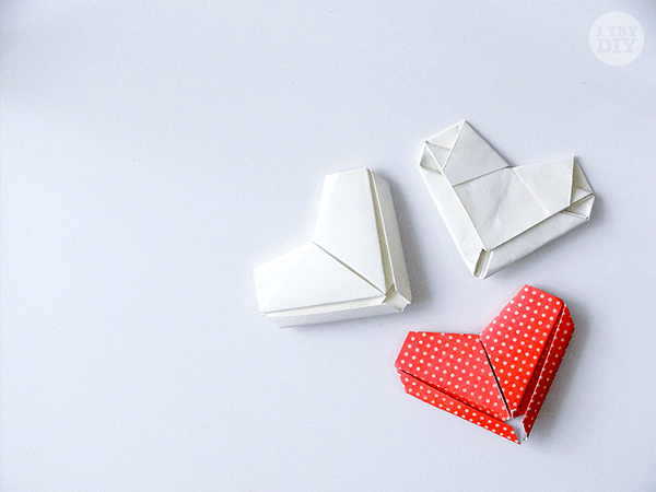 How to Fold a Letter into an Origami Heart   I Try DIY
