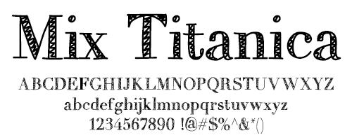 I Try DIY | Font Fix: Mix Titanica