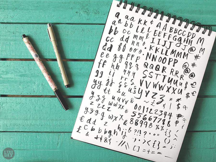 I Try DIY | Font Fix: Mix Fickle