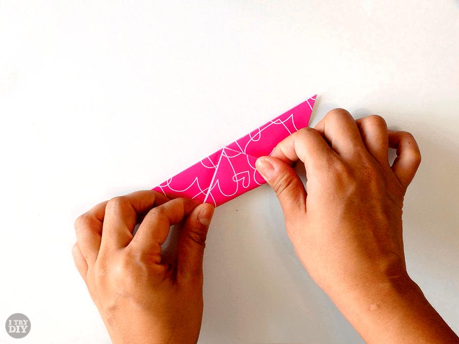 I Try DIY   Triangle Origami Bowls