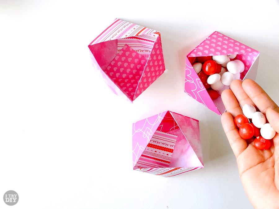 Triangle Origami Bowls I Try Diy