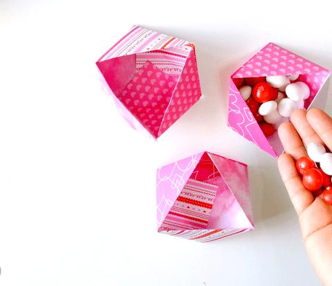 Triangle-Origami-Bowls