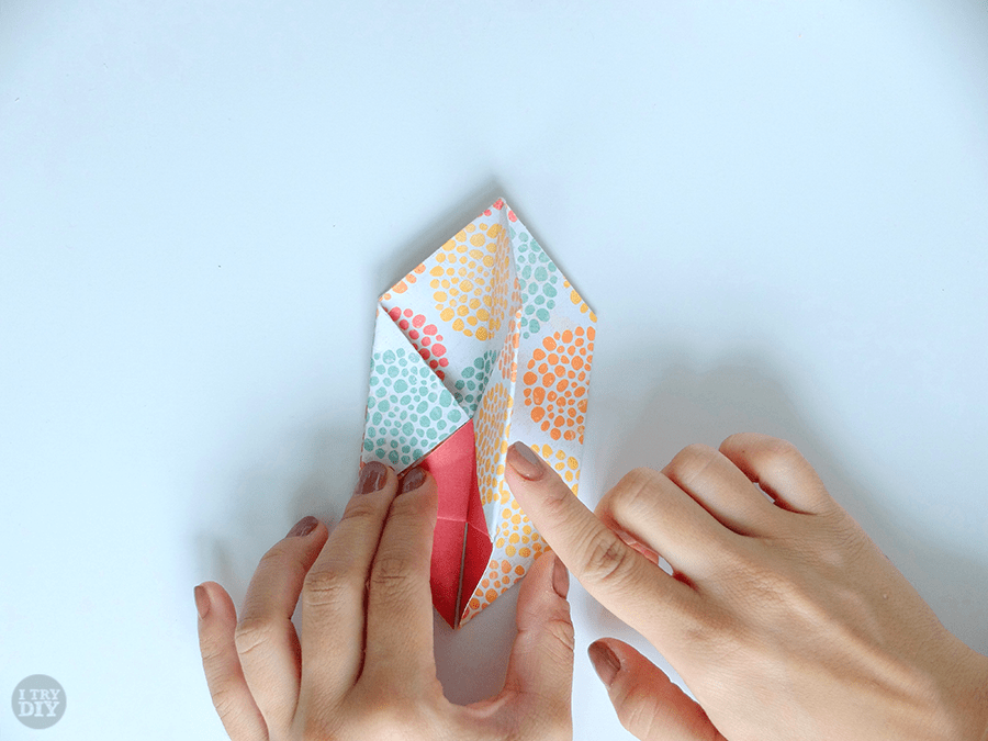 Origami Chinese Takeout Box | I Try DIY