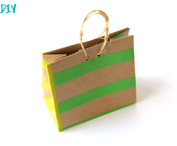 Mini Origami Shopping Bag
