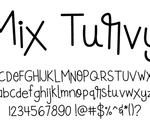 Fonts by Mikko Sumulong - Mix Turvy
