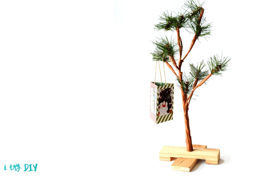 I Try DIY | Instax Christmas Ornament