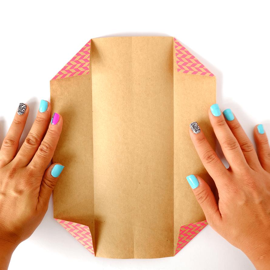 I Try DIY   Origami Business Card Holder