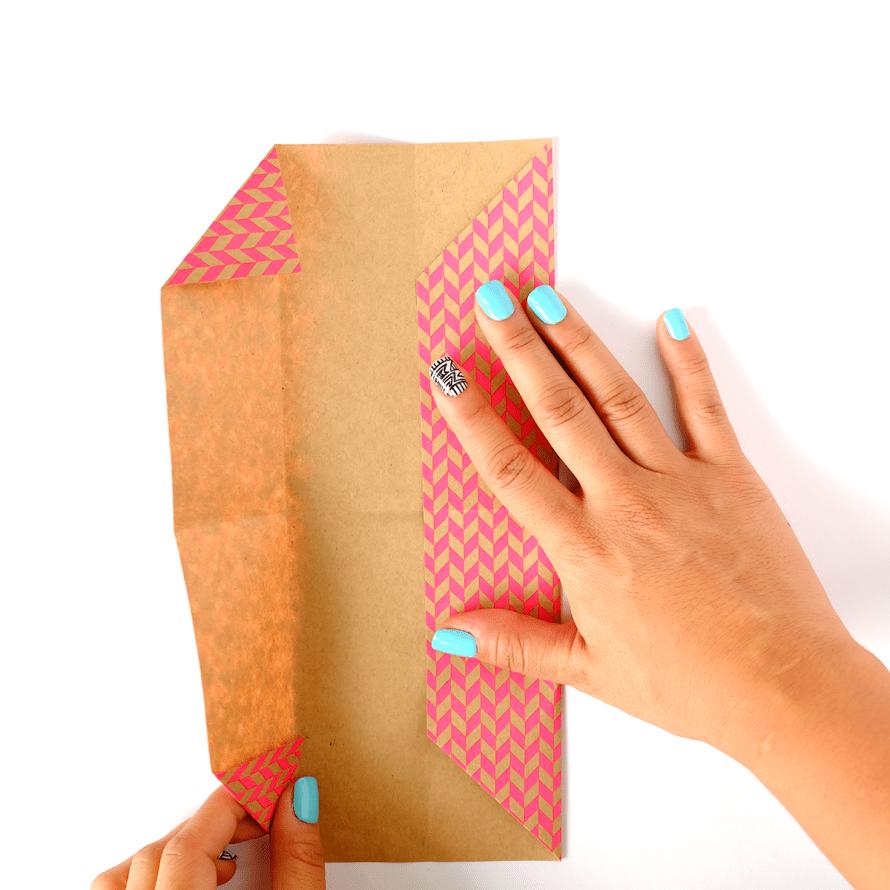I Try DIY | Origami Business Card Holder