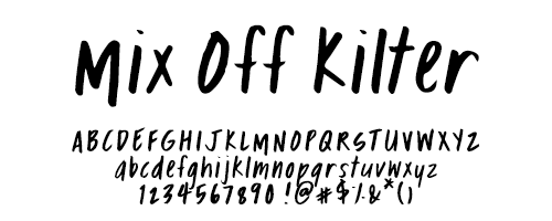 I Try DIY | Font Fix: Mix Off Kilter
