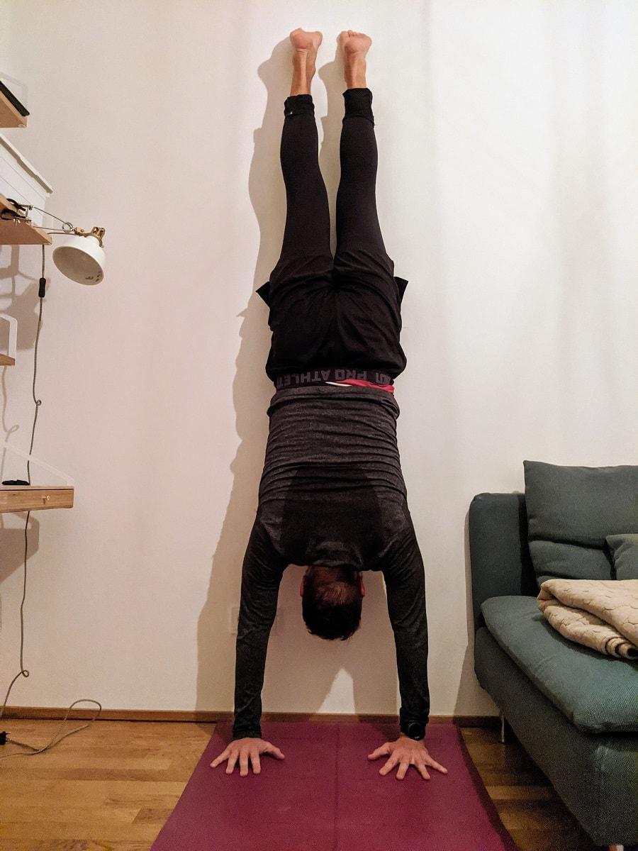 Handstand - Wohlfühl-Challenge - Fazit