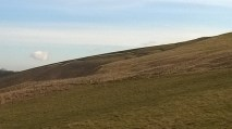 The White Horse - It is impossible to take a picture of the horse without getting quite high up. One of the mysteries!