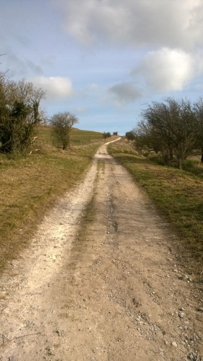 The Ridgeway, a bit sticky