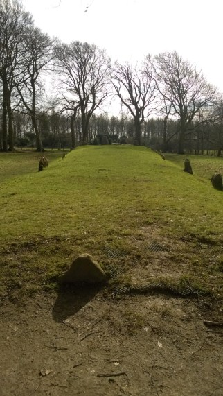 Very green burial mound
