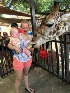 giraffe parker
