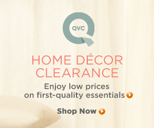 QVC-Home Decor Clearance Low Prices